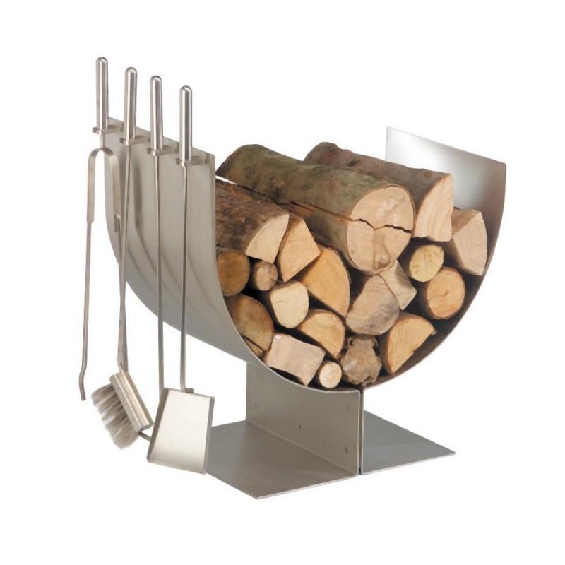 Porte buches - Panier a bois design ...
