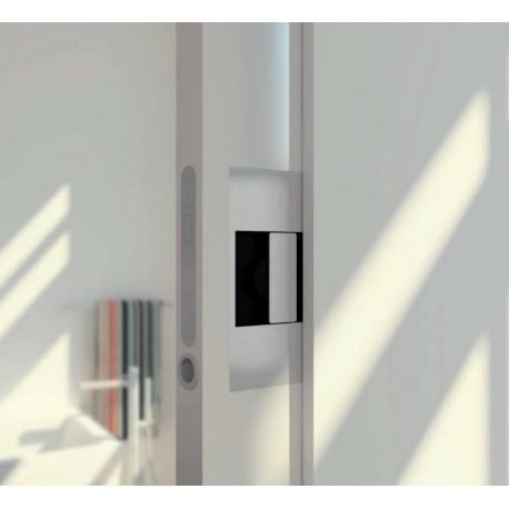poign e encastrer pour porte coulissante inox metaux. Black Bedroom Furniture Sets. Home Design Ideas