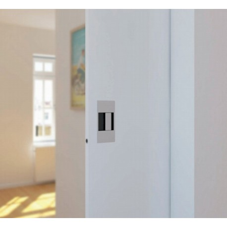poign e pour porte coulissante inox metaux. Black Bedroom Furniture Sets. Home Design Ideas