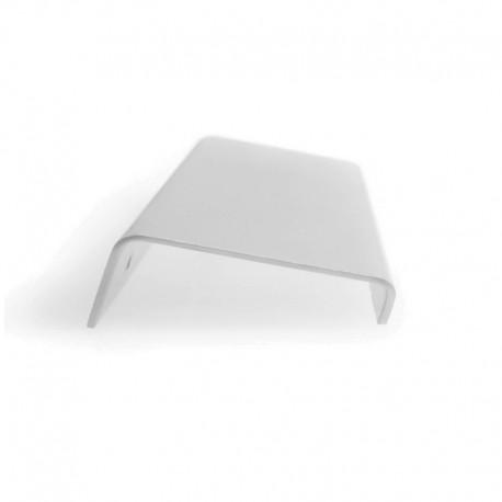 Poignée de meuble extra plate inox - 96 mm