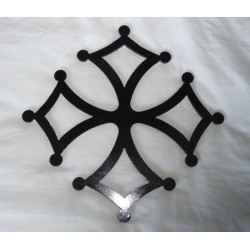 Croix occitane fer hauteur 350 mm