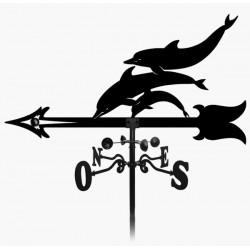 Girouette dauphins