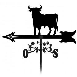 Girouette taureau