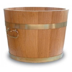 Pot de fleurs bois 1