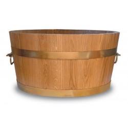 Pot de fleurs bois