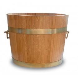 Pot de fleurs bois 2