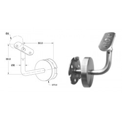 Support réglable- Inox A4