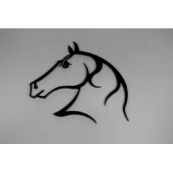 Tête de cheval fer hauteur 375 mm