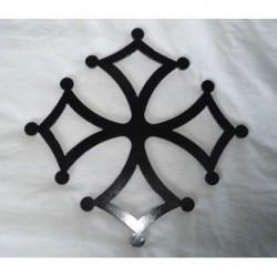 Croix occitane fer hauteur 500 mm